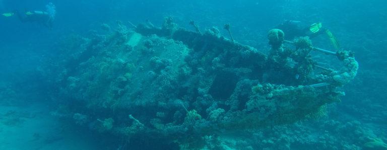 Hamata Mangroves Schiffswrack